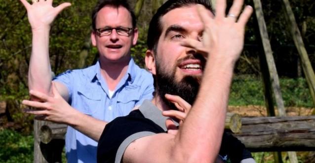 Actief teamuitje met klimmen, de haka en bbq in Oldenzaal