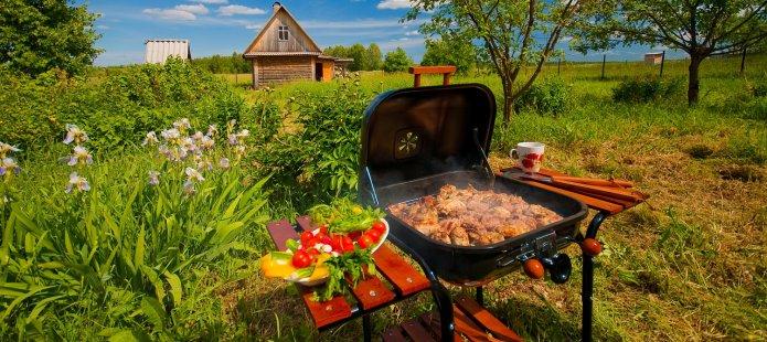 BBQ workshop met de Rolls Royce onder de barbecues